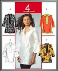 McCall's 5556 Out of Print Sewing Pattern to MAKE Misses' Tunic Tops sz 8-16