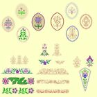 Heirloom Flowers Machine Embroidery & Redwork Designs- 42 Anemone Embroidery Des