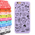 Animation Pattern Hard Skin Cover Case Back Protector For 4.7'' iPhone 6 NEW
