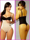 Vedette Lite Control Strapless Thong Slimming Shaper Control Suave Thermal C58