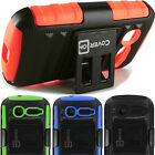 Rugged Belt Clip Holster Kickstand Phone Cover Case Alcatel One Touch Pop C1