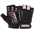 Women Weight Lifting Gloves Gym Fitness Training MRX Glove Pink Black S-X Large