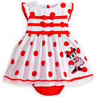Toddler Baby Girl Princess Pageant Party Mickey briefs Bow Dot Dress Kids Summer