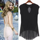 Fashion Women's Sleeveless Casual Shirt Tops Summer Cool Blouse