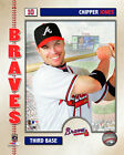 Chipper Jones Atlanta Braves MLB Licensed Fine Art Prints (Select Photo & Size)