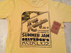 TRUE RELIGION T Shirt CREW NECK SUMMER JAM Yellow NEW