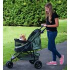 NO-ZIP Special Edition PET DOG CAT STROLLER Parent tray,  panoramic view paw rest