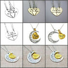 Best Bitches Friendship Gold/Silver Break Heart Pendant Necklace Family Necklace