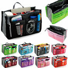 Travel Inner Insert Cosmetic Makeup Pouch Handbag Tote Organizer Tidy Bag Purse