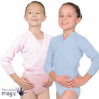 *Girls Ballet Dance Acrylic Wrap Crossover Cardigan Roch Valley OL1 Pre Primary*