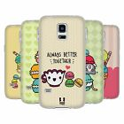 HEAD CASE KAWAII MACARON COVER MORBIDA IN GEL PER SAMSUNG GALAXY S5 MINI G800F