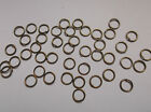 CLOSING DOWN SALE... 100 X 8MM ANTIQUE BRONZE JUMP RINGS...CLOSING DOWN SALE