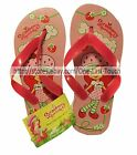 *STRAWBERRY SHORTCAKE For Girls FLIP FLOPS Thong Sandals/Shoes NEW *YOU CHOOSE*