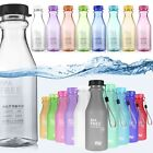550ml BPA Free Cycling Camping Sports Water Bottle Unbreakable Leak-proof Cup