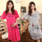 2016 Pregnant Women Plus Cute Cat Lactation Nursing Clothes Maternity Dress New