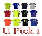 BOYS UNDER ARMOUR UA LOGO TEE ATHLETIC T SHIRT ACTIVE KIDS CHILDRENS CLOTHES