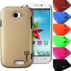 For ZTE Q802T - Protective Hard Case Slim Rubberized Snap On Thin Phone Cover