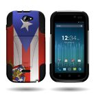Tough Kickstand Hybrid Armor Protective Phone Cover Case for BLU Advance 4.0