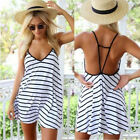 Sexy Women Summer Sleeveless Evening Party Cocktail Mini Dress Bandage Slim New