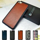 For Apple iPhone 6 / iPhone 6 Plus Hybrid TPU Leather Thin Bumper Case Cover