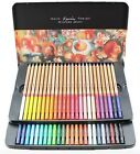 Marco Renoir Fine Art 24/36/48 Color Drawing Oil Base Non-toxic Pencil Tin Set