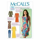 McCall's 7122 Sewing Pattern to MAKE Stretch Top Dress Leggings Suit Beginners