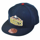 NBA Mitchell Ness TY46 Denver Nuggets Third Alternate Navy Fitted Hat Cap