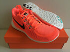 NEW Women's Nike Free 5.0 Running Shoe Hot Lava / Black / Glow #724383 800