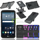 3 Layers Rugged Hybrid Stand Case Soft Cover For LG G4 Note LS770 LG G Stylo
