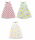 Girls Summer Dress Holiday Beach Sundress 3 Designs Sleeveless Kids Casual Wear