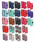 FOR LG PHONE MODELS G STYLO FLIP JACKET WALLET POUCH CASE CARD SLOT COVER+STYLUS