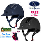 Gatehouse Chelsea Air Flow Pro Suedette Crystal Riding Hat **FREE UK SHIPPING**