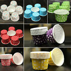 100x Dot Paper Cake Cup Cupcake Cases Liners Muffin Dessert Baking Party Gift