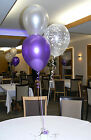 Engagement Balloons - 10 Table Decorations - DIY Kit - Many Colours to choose