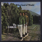 CABLES: What Kind Of World LP (UK cover, Jamaica vinyl, sl cover bend) rare Reg