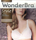 New White Wonderbra Chantilly Lace Wire Free Bra 2484