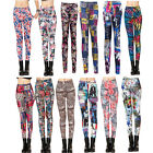 Women Lady Slim Fit Leggings Stylish Print Warm Fashion Gift