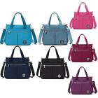Women Tote Nylon Handbag Inclined Shoulder Messenger Travel Bag Waterproof