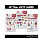 One Direction Temporary Tattoo Pack 1, 2 OR 3 Official 1D Tattoos Choose Yours