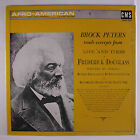 BROCK PETERS: Reads Life And Times Of Frederick Douglas LP Sealed Spoken Word