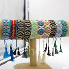 Exclusive Boho Japanese Seed Beads Handmade Tassel Friendship Woven Bracelet