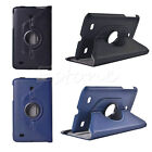 "360 Rotating Folio PU Leather Case Cover Stand for LG G Pad 7"" 8"" 8.3"" Tablet"