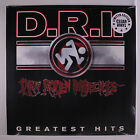 D.R.I.: Greatest Hits LP Sealed (limited edition clear vinyl) Punk/New Wave