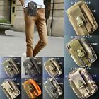 Waterproof Military Tactical Army Camo Hiking Trekking Waist Belt Pouch Bag Pack
