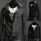Men's Slim Top Designed Sexy Hoody/Hoodies Double Breasted Jacket Coat ODUSSL#