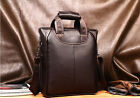 The Latest New Leisure Men's Artificial Leather Handbag Shoulder Laptop Bag TBUS