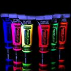 PaintGlow Neon UV Hair Gel Bright Rave Festival Party Flourescent Colour Pub Uni