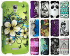 For Alcatel OneTouch Pop Astro Rubberized HARD Protector Case +Screen Protector