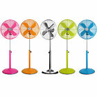 Floor Standing Fans Electric Pedestal Tower Office Cooling Height Adjustable