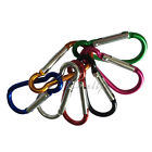 1 Aluminum Lock Carabiner Clip Snap Hook Screw Keychain Camping Outdoor Gourd